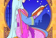 Muslim/Islamic Queens, Scholars, and Philosophers
