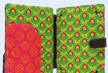 Handmade Stationery / Bright and colourful handmade stationery from India