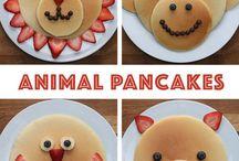 Pancake shapes