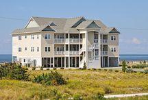 Rodanthe Sunset Resort / Soundfront condo resort, Hatteras Island, Outer Banks, NC.