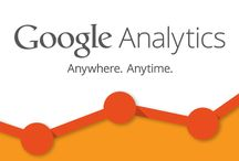 Google analytics / Google Analytics lets you measure your advertising ROI as well as track your Flash, video, and social networking sites and applications.