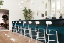 White Bar Decor
