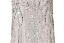 Silverklänning