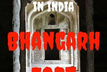 Bhangarh Fort - Most Haunted Place in India / Bhangarh Fort near Jaipur, Rajasthan is the most Haunted Place in India. Visit and read about this place on my travel blog