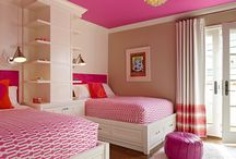 Girls bedroom / by Linda Lucas