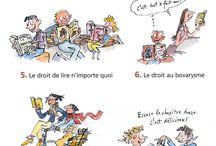 Français, poésie et livres