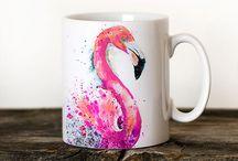 Flamingo inredning