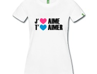 tee shirt j'aime t'aimer