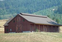 Barn Plans / Barn Plans, Horse Barns, and Agricultural Building Plans