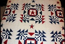 Red White & Blue Quilts
