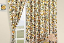 Printed Curtains / Instigate an interactive environment as you introduce your windows & doors to printed curtains. Kick in some patterns and prints to contrast with your subtle, dull walls. The astounding combination of radiant colors with delicately laid exotic prints works their magic in your monotonous abode. Ameliorate your home décor as give yourself and your guests a different perspective with these alluring floral printed curtains.