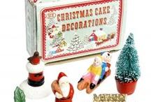 Christmas Cake Decorations