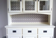 Hutch restoration / Restored hutch ideas