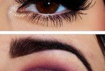 Make up / Maquiagens e penteados.