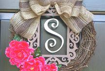Door Wreath / by Cassandra Taylor
