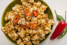 Popcorn recipes / We concocted our deliciously daring popcorn recipes with the help of a food scientist.
