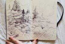 SKETCH BOOKS / Other artists sketchbooks