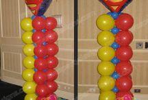 Super Heros Balloon Ideas