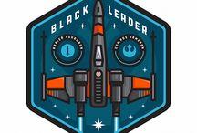Badge and logo