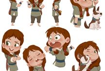 character design (KIDS)