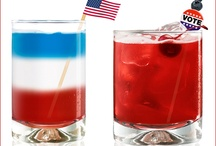 4th of July Recipes / Cocktails / Patriotic cakes, pies, pizzas & much more, the best Red, White and Blue drinks and recipes we can find!