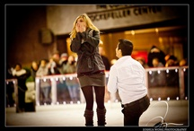 Wedding Surprise Proposals  / Being an event, wedding, and fashion photographer, I often have the privilege of photographing celebrities like Jessica Biel, Jay-Z and the Victoria Secret Angels. However, on this beautiful winter evening, Jessica and Bobby were the true celebrities. Their 15 minutes of fame happened on December 29, 2011 at the Rockefeller Ice Rink in New York City, two days before the massive New Year's Eve Party at Times Square. This happens to be where Bobby decided to propose to girlfriend Jessica as they b