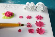Fondant / Flores y tutoriales