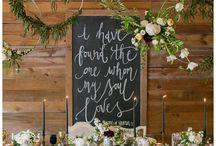 BRIDAL TABLES