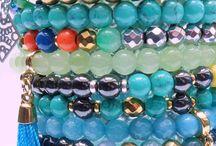Tropikalne BOHO / Biżuteria artystyczna  inspirowana kolorami przyrody