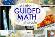 Guided Math / Implementing guided math and math workshop can be tricky.  These pins will help you prepare your schedule, make a bulletin board, prep your centers, and plan your lessons!