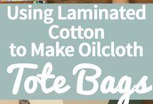 laminovaná bavlna