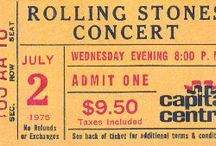 Rolling Stones Ticket Stubs / There are nearly 200 Rolling Stones ticket stubs on the main site, many with recent winning auction bids. Here are some stand outs. To see them all visit http://www.ticketstubcollection.com/ticket-stub-tags/rolling-stones/
