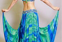 danza arabe, trajes