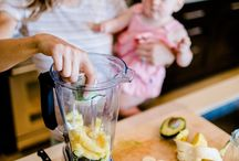 Feeding Baby / Weaning six months onward - including healthy power blender recipes