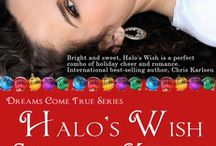 Halo's Chrismas Wish / Halo's Wish is a delightful combination of humor, romance, action, and sweet charm. It is a fast read, great for a lazy afternoon, or sitting around the Christmas tree drinking eggnog.