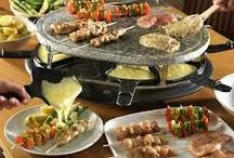 Raclette/fondue ideas
