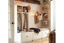 m u d • r o o m / Every home needs a mud room..........