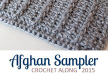 Afghan crochet along