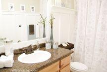 Bathroom Redo / by Rachel Phillips-Fore