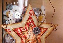 Papercraft Christmas Ornments