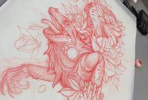 big tattoos
