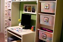 Organized office / by Laura Bunker