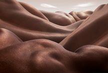 """Bodyscapes / Impresionante proyecto de Carl Warner, titulado """"bodyscapes""""."""