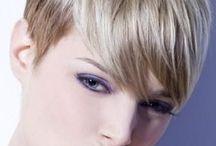 kurze Haare