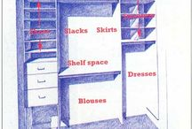Grace's closet redesign / Making Grace's closet fully functional is that she always has a place for all her clothes and accessories / by Lynne Siders
