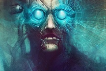 Cyberpunk/Dystopia inspiration / Dystopia, cyberpunk, dark, goth, future, armor end of world.