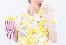 karneval kostüm popcorn