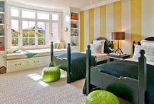 Boy's Room Ideas / Tons of fun, clever, affordable decorating ideas for a young boys room.