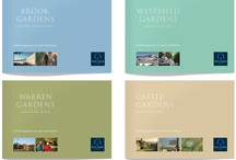 Brochures/Print / Range of brochures produced for the over 55s housing market