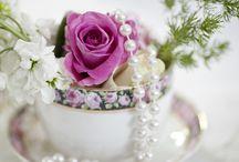 Tea tables / Tea tables and food